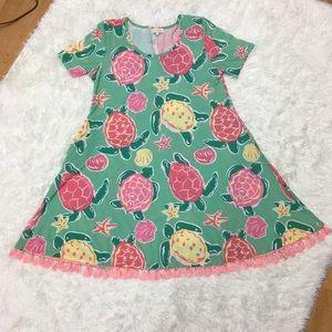 NWOT. Beachy dress size Small